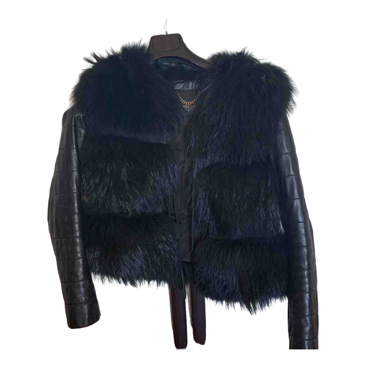 Non Signé / Unsigned \N Black Fox jacket for Women 38 IT