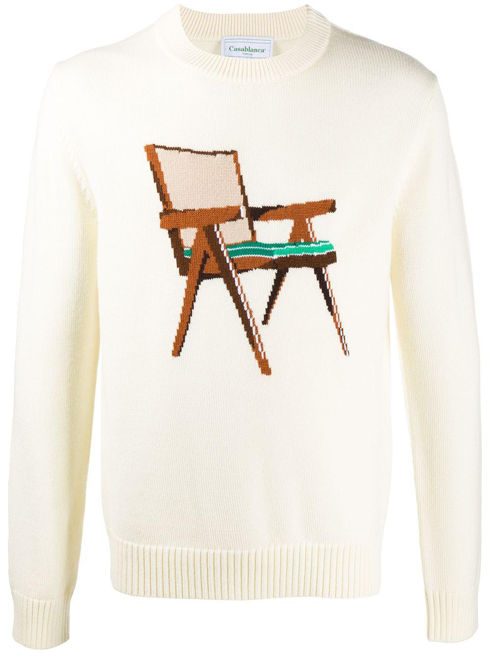 Print Sweater