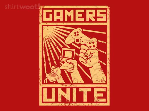 Gamers Unite T Shirt