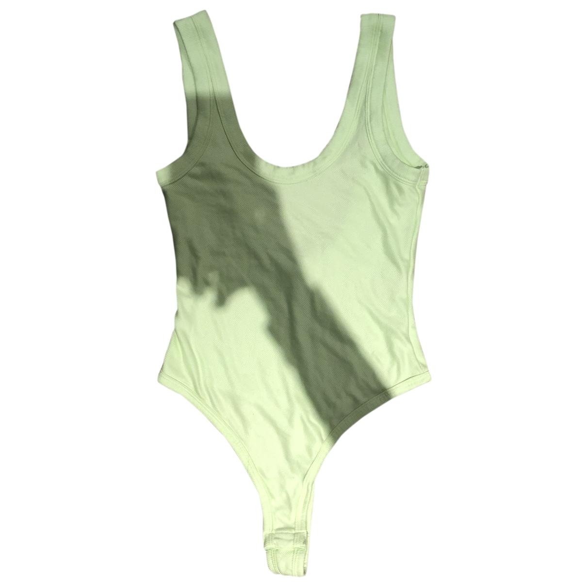 Uniqlo \N Top in  Gruen Polyester