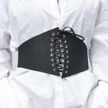 Lace-up Corset Belt