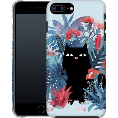 Apple iPhone 8 Plus Smartphone Huelle - Popoki Blue von Little Clyde