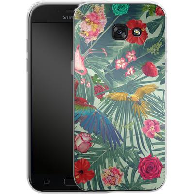 Samsung Galaxy A5 (2017) Silikon Handyhuelle - Tropic Fun von Mark Ashkenazi