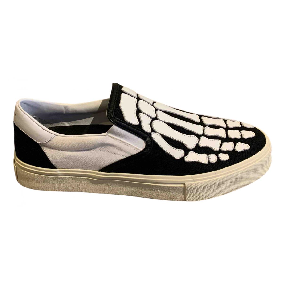 Amiri \N Sneakers in  Weiss Leinen