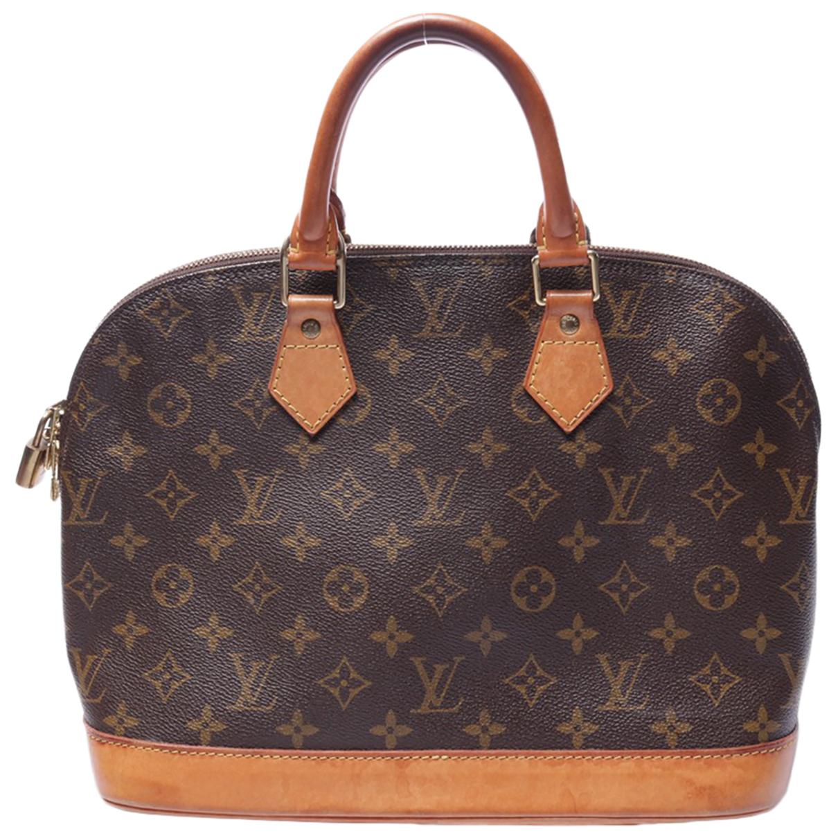 Louis Vuitton N Brown Cotton handbag for Women N