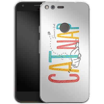 Google Pixel Silikon Handyhuelle - Catnap von Simons Cat