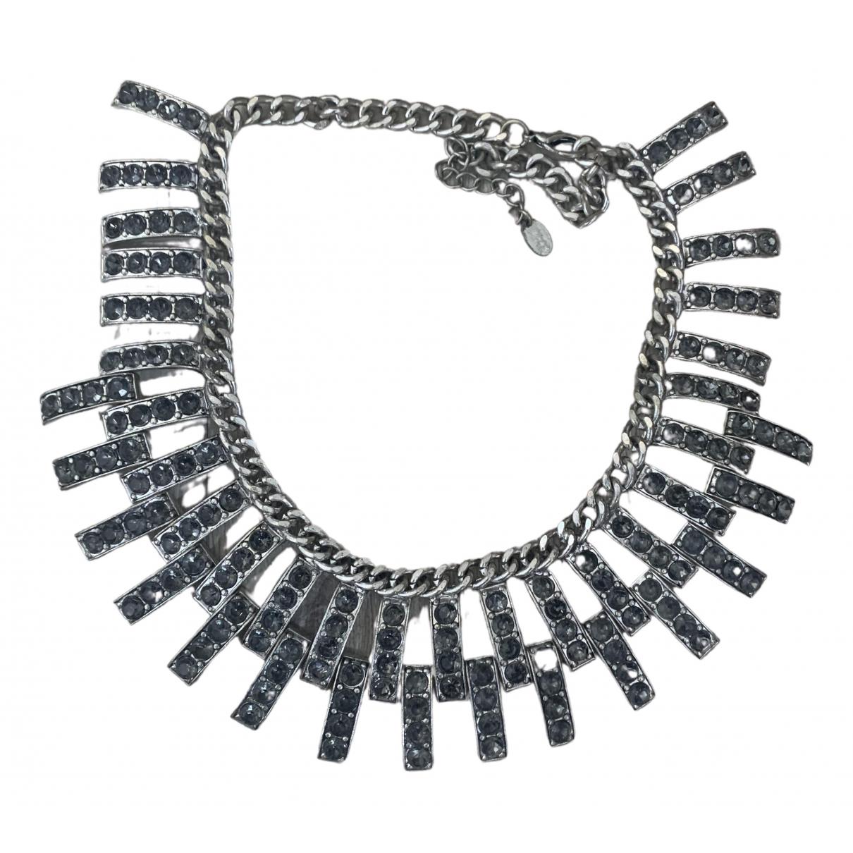 Zara \N Kette in  Silber Metall