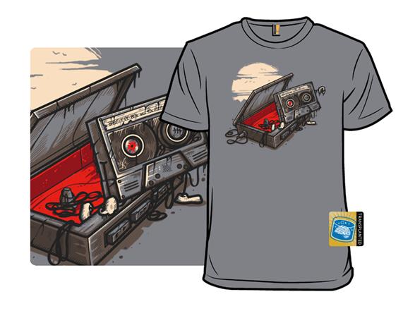 Dead Man Walkman T Shirt