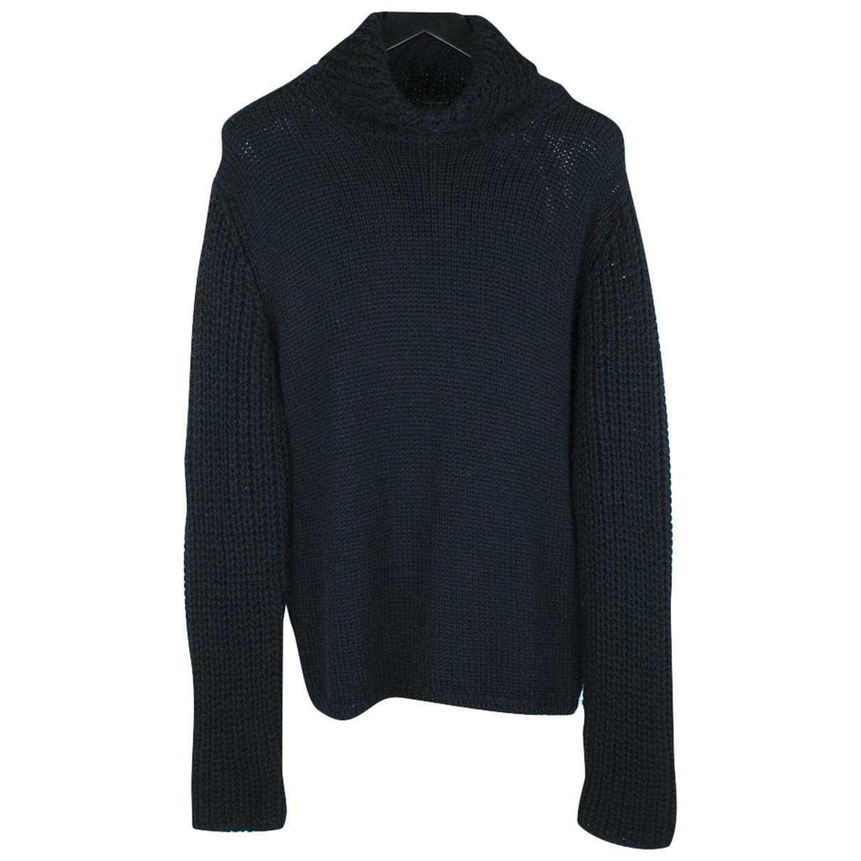 Jil Sander \N Pullover.Westen.Sweatshirts  in  Blau Wolle