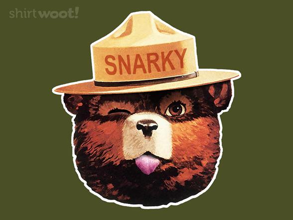 Snarky The Bear T Shirt