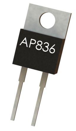 Arcol 2.2kΩ Thick Film Resistor 35W ±5% AP836 2K2 J 100PPM