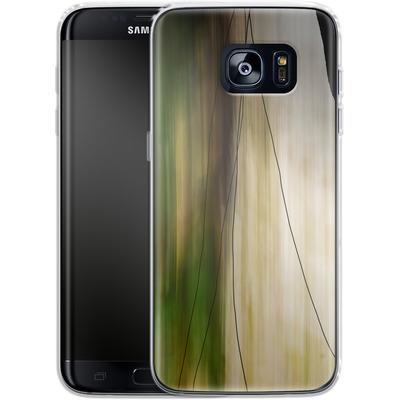 Samsung Galaxy S7 Edge Silikon Handyhuelle - Breathe von Joy StClaire