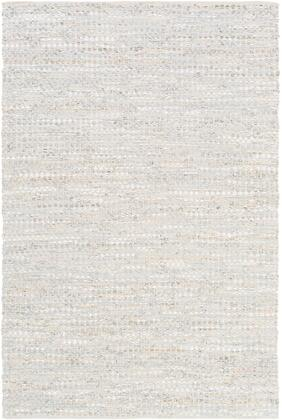 Jamie JMI-8005 6' x 9' Rectangle Modern Rug in Ice Blue