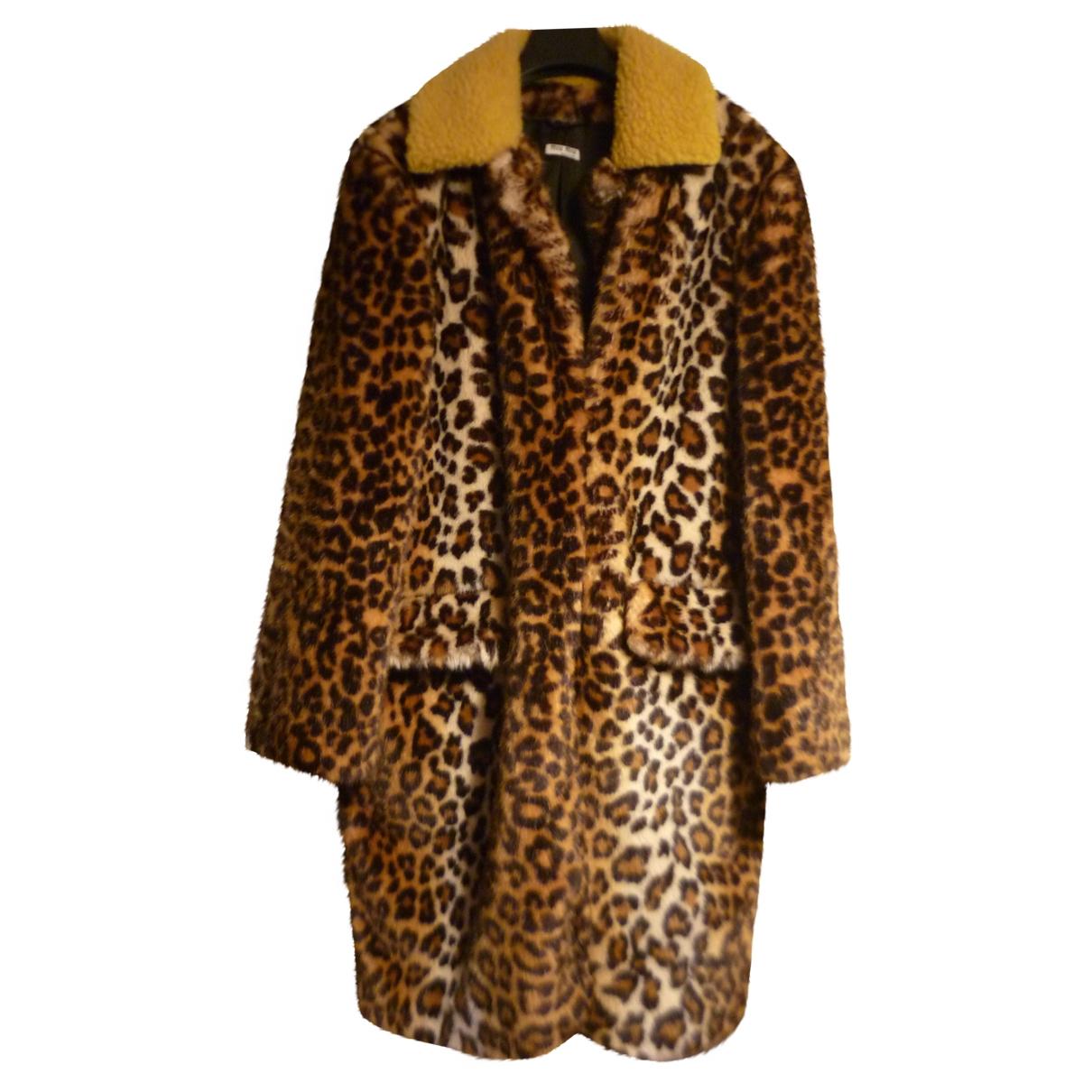 Miu Miu - Manteau   pour femme en fourrure synthetique