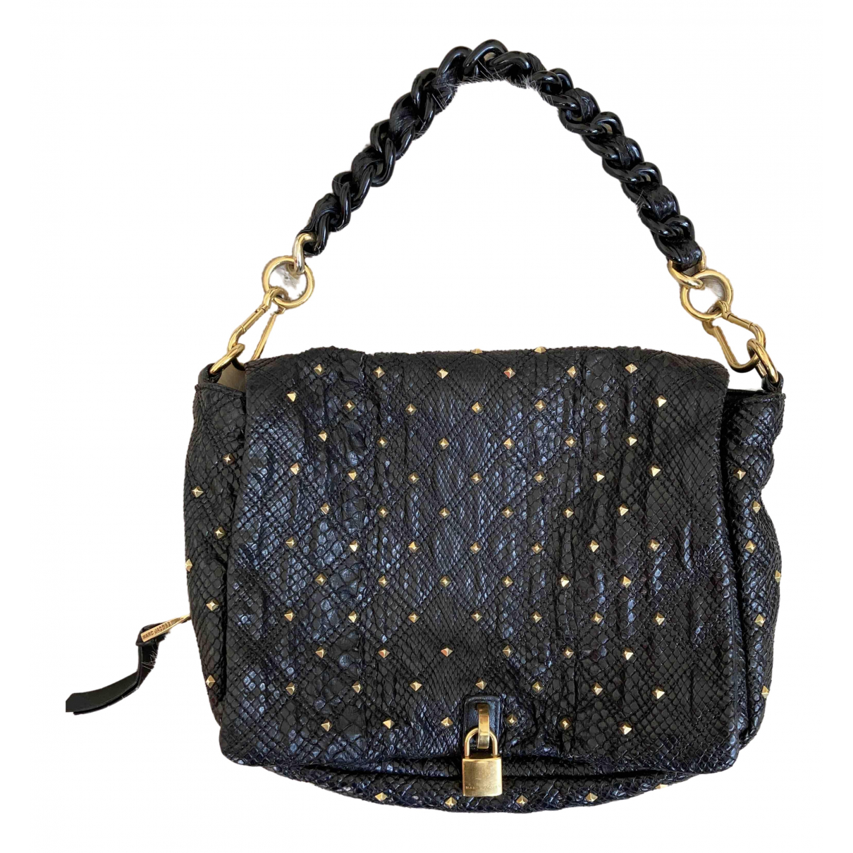 Marc Jacobs \N Black Exotic leathers handbag for Women \N