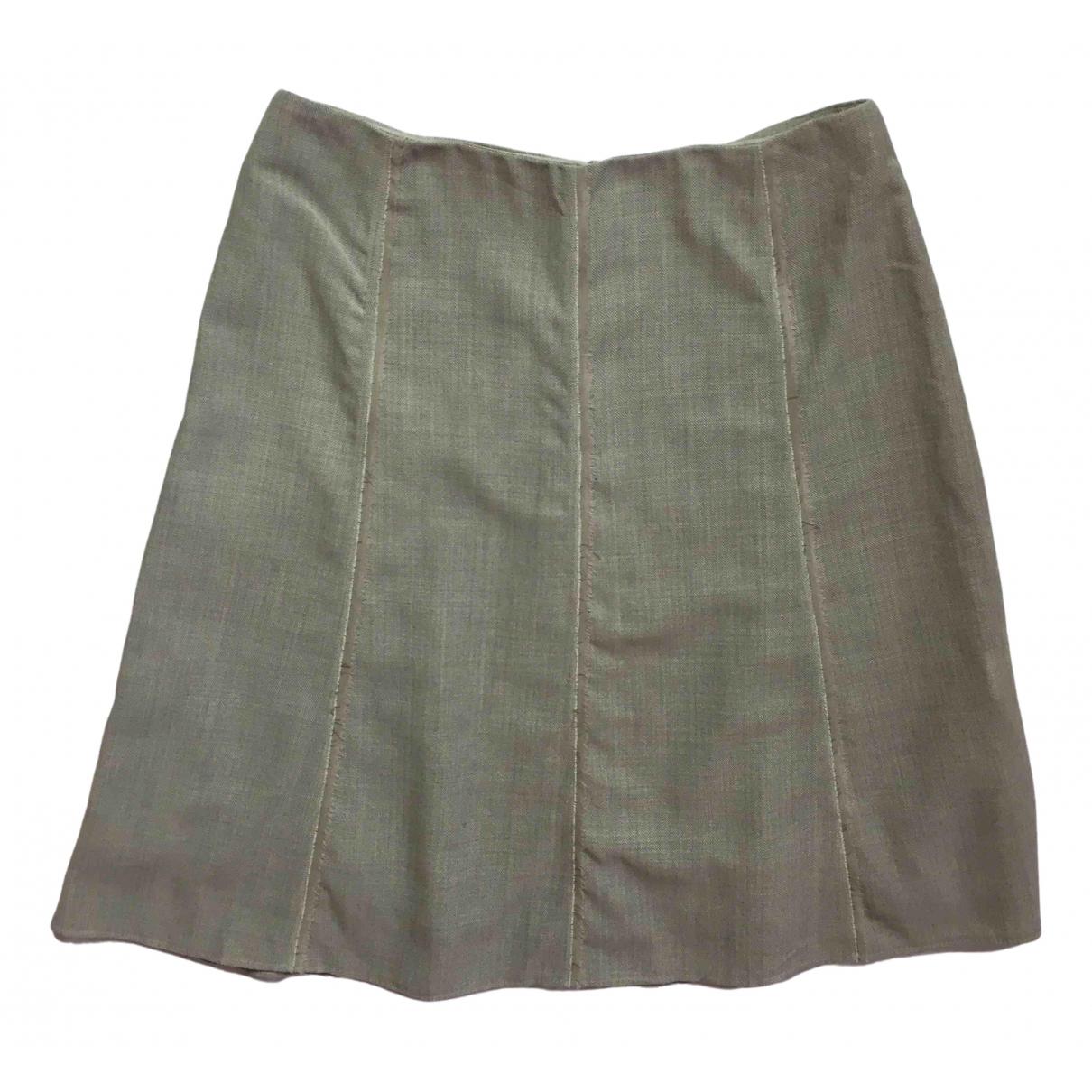 Akris - Jupe   pour femme en laine - gris