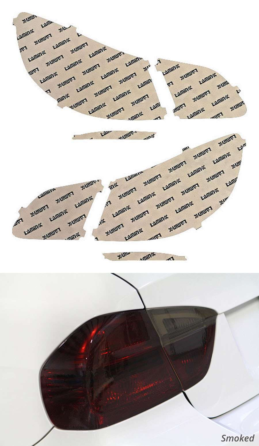 Chevrolet SS 14-18 Smoked Tail Light Covers Lamin-X CH240S