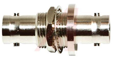 Mueller Electric Straight 50Ω RF Adapter BNC Socket to BNC Socket