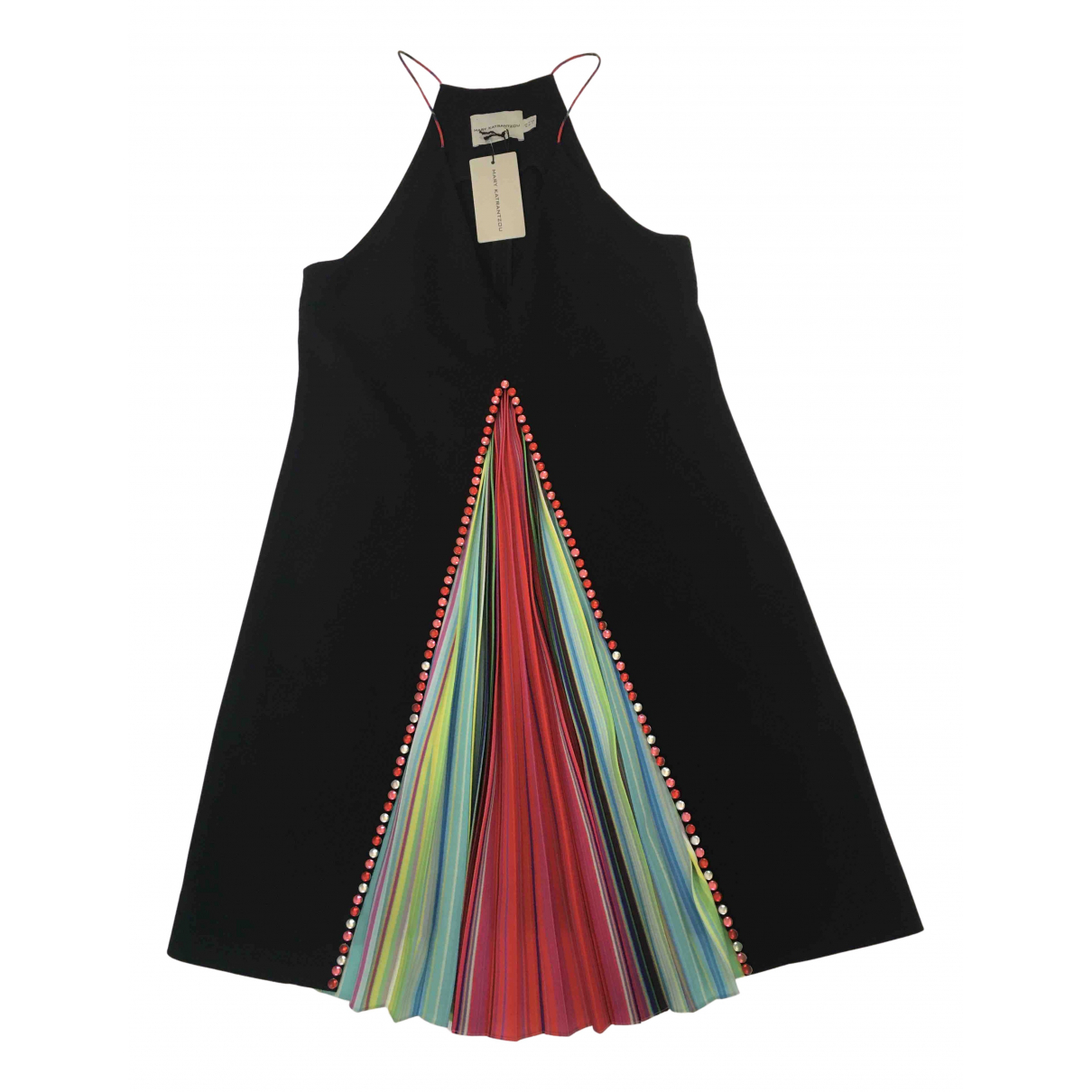 Mary Katrantzou \N Kleid in  Schwarz Polyester