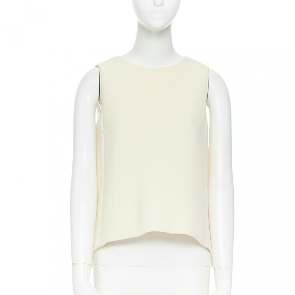 Marni - Top   pour femme en laine - beige