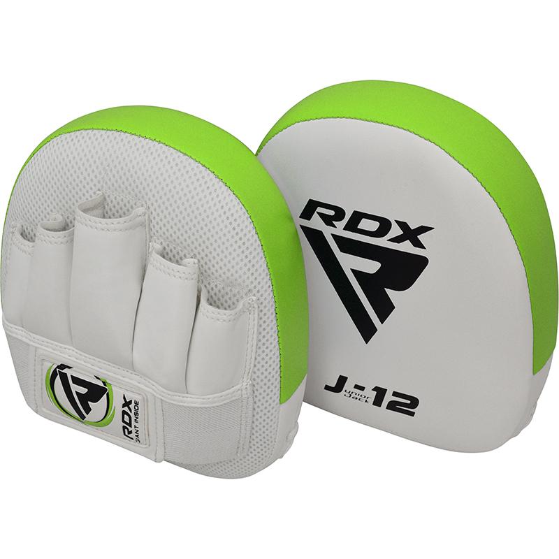 RDX J12 Mitaines pour Enfants Vert Cuir PU