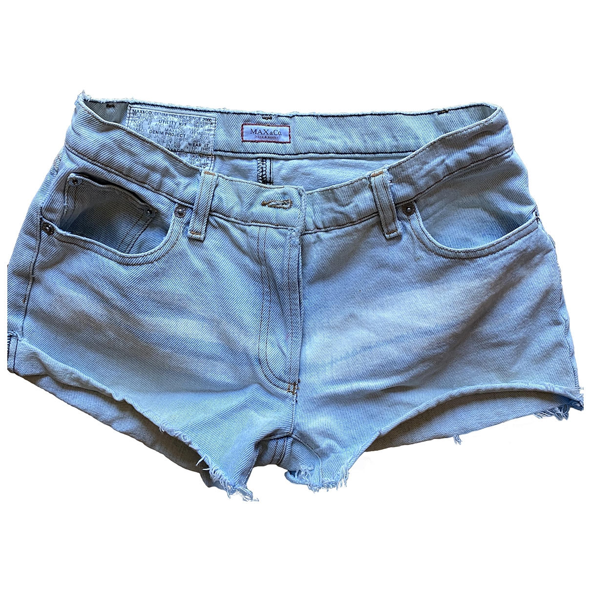 Max & Co \N Denim - Jeans Shorts for Women 38 IT