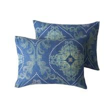1pair Royal Pattern Pillowcase Without Filler