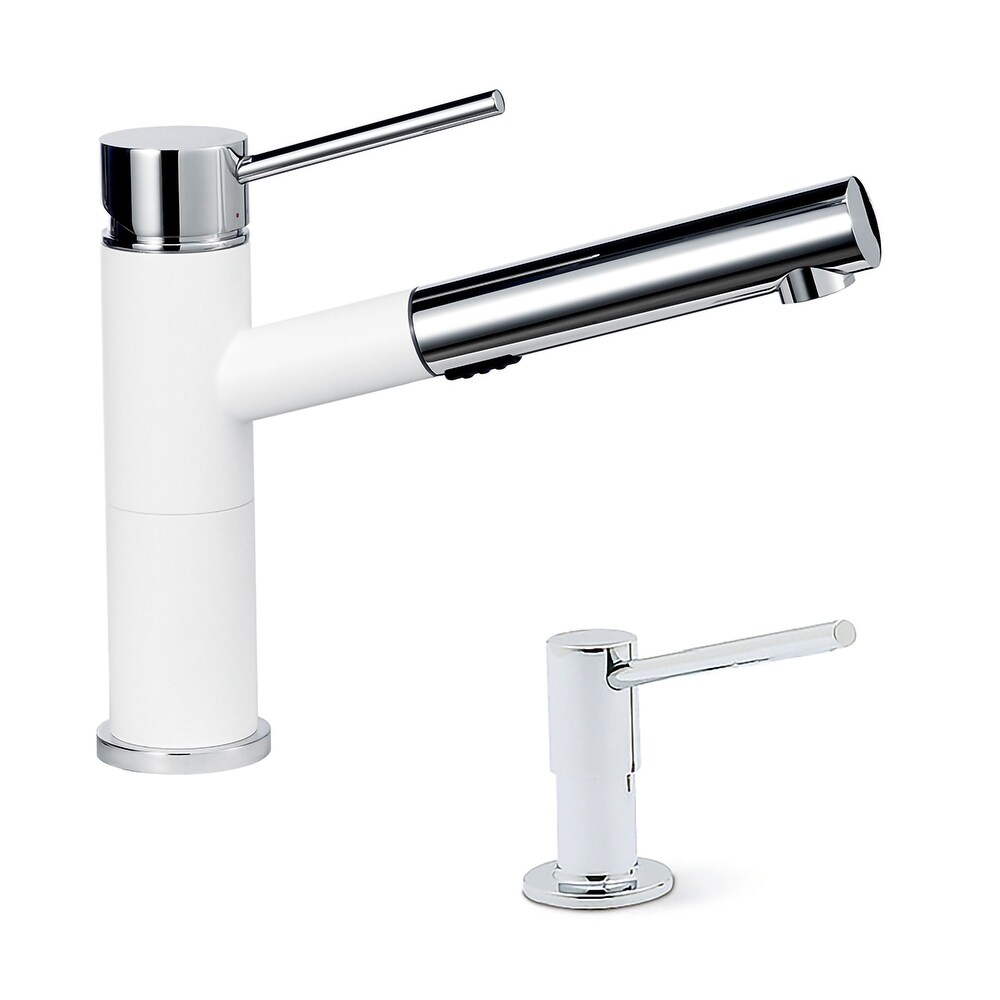 Blanco KF-441491 Alta Compact Pull-Out Faucet with Soap Dispenser - 2