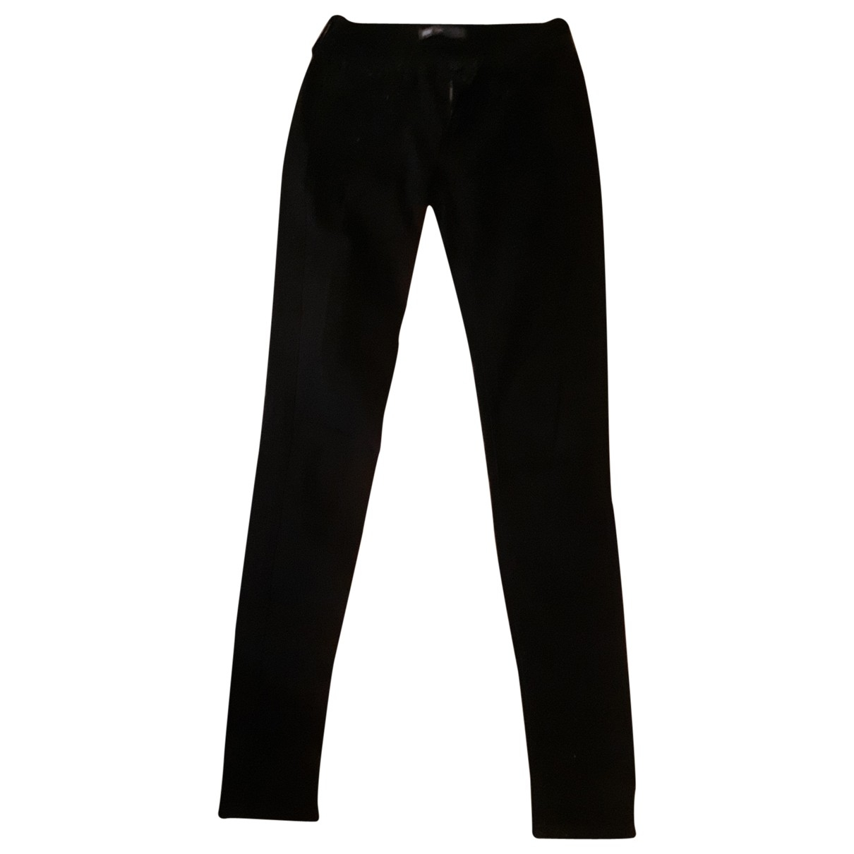 Levi's \N Black Cotton Trousers for Women S International