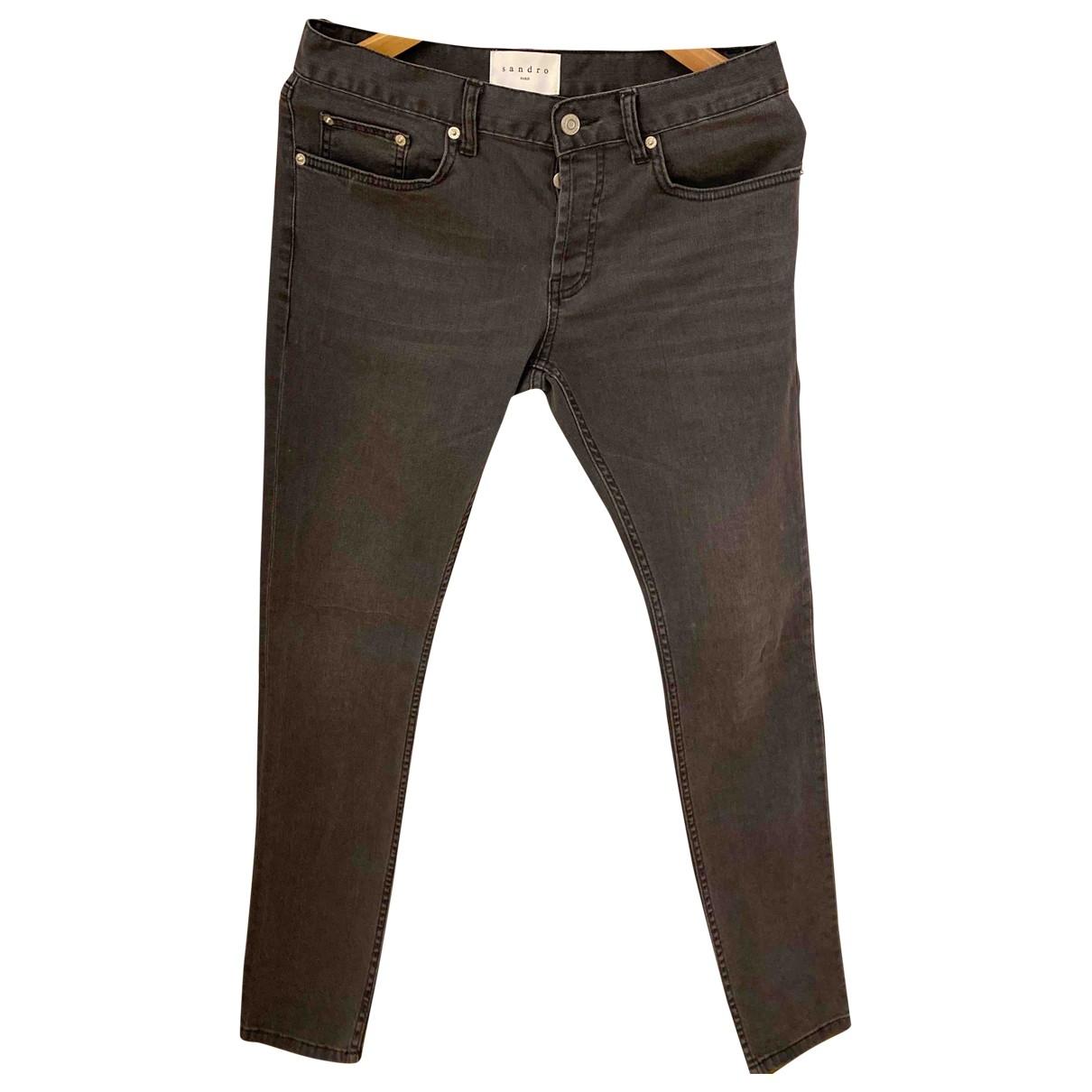 Sandro \N Grey Denim - Jeans Trousers for Men 28 UK - US