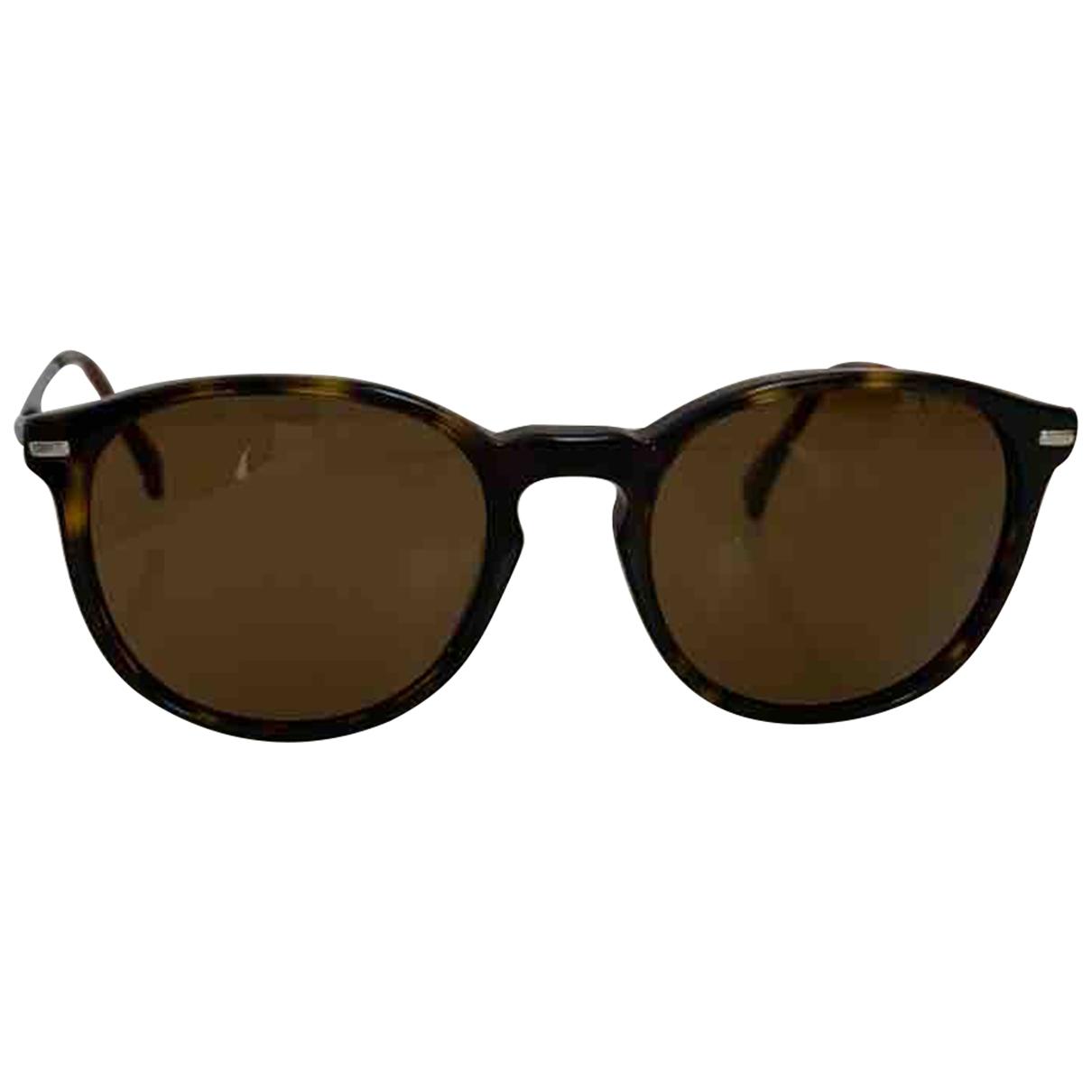 Giorgio Armani \N Sonnenbrillen in  Braun Kunststoff