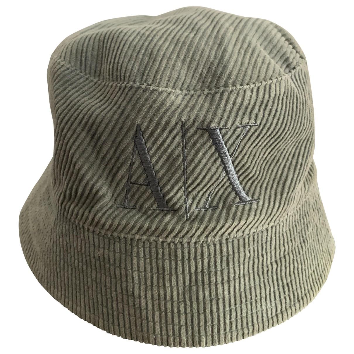 Emporio Armani - Chapeau & Bonnets   pour homme en coton - bleu