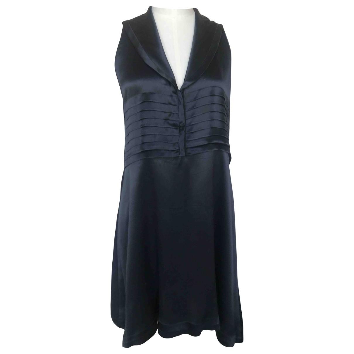 Prada \N Kleid in  Blau Seide
