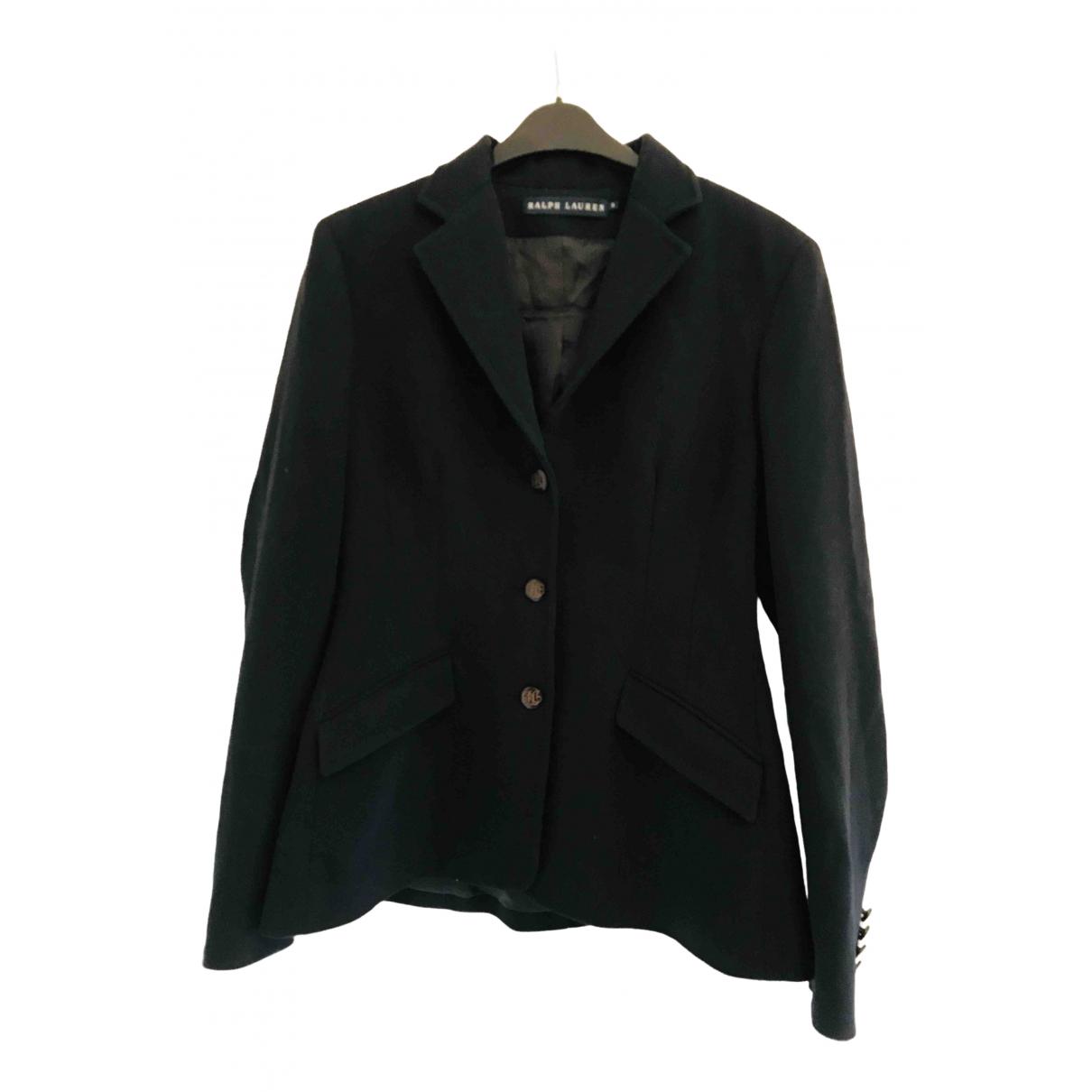 Polo Ralph Lauren - Veste   pour femme en laine - marine