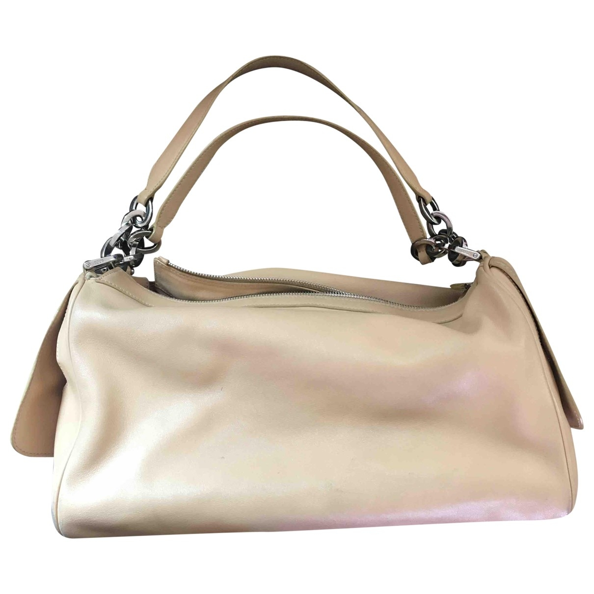 Tod's \N Beige Leather handbag for Women \N