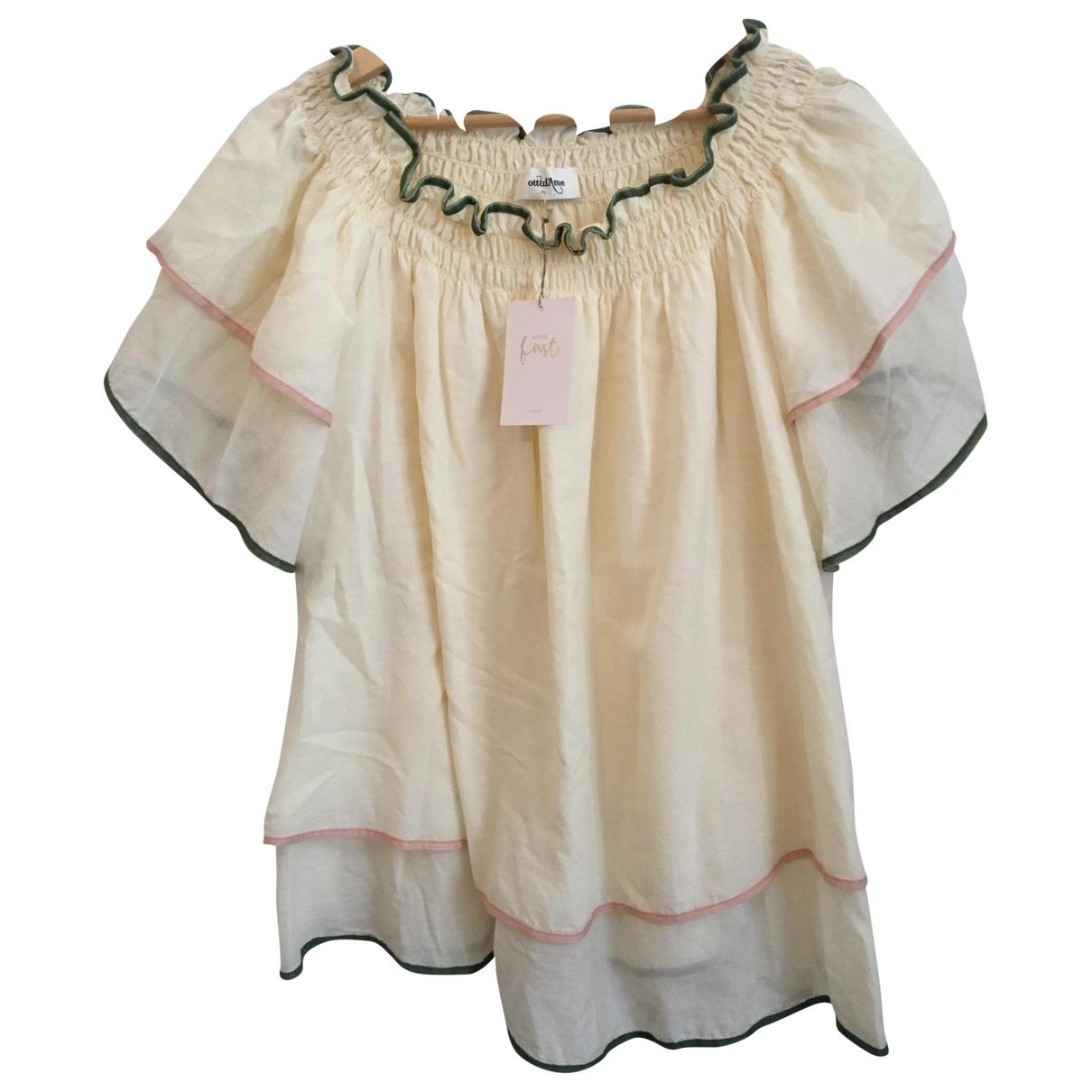 Ottodame - Top   pour femme en coton - multicolore