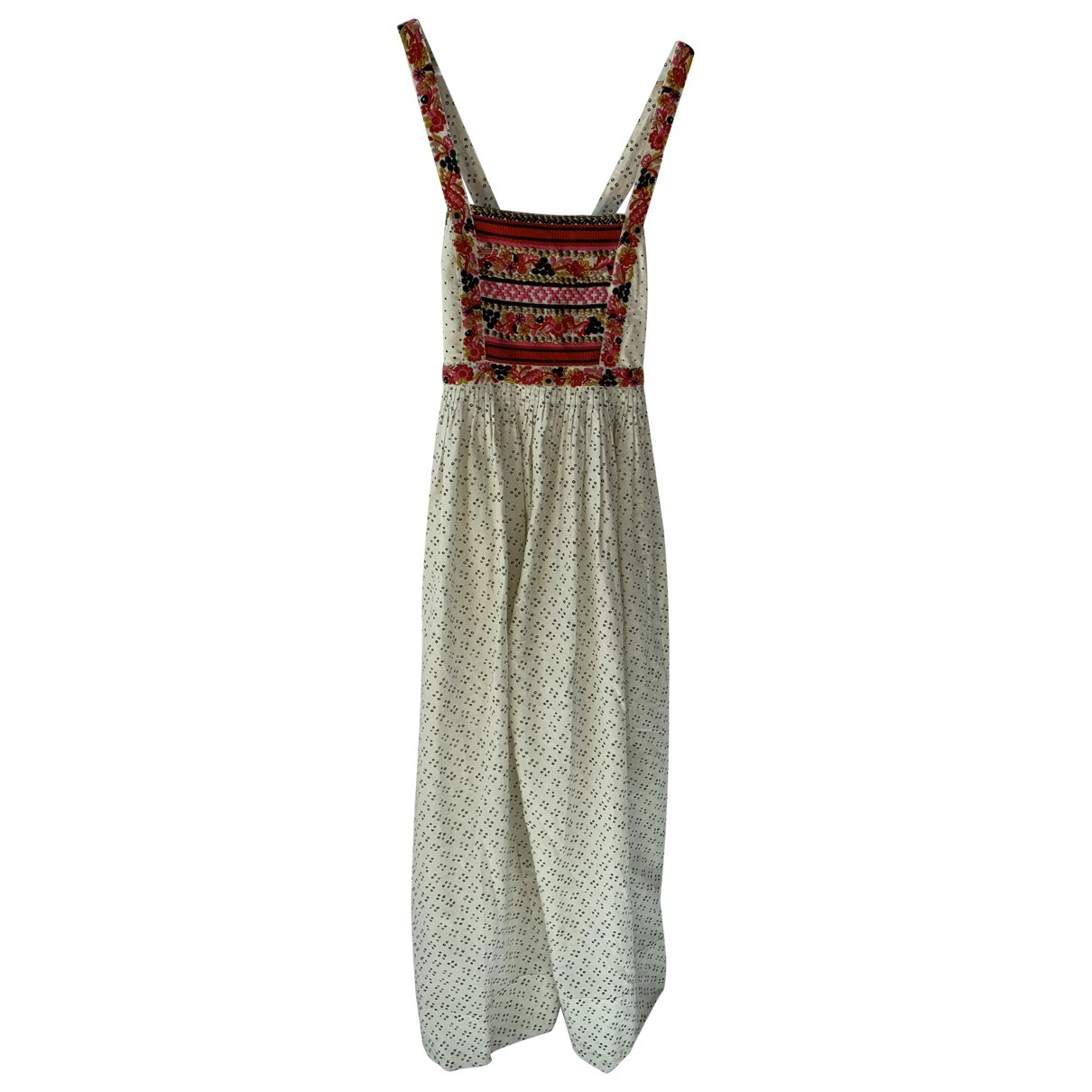 Ulla Johnson \N Ecru Linen jumpsuit for Women 4 US