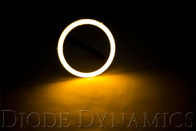 Diode Dynamics DD2027S Halo Lights LED 100mm Amber Single