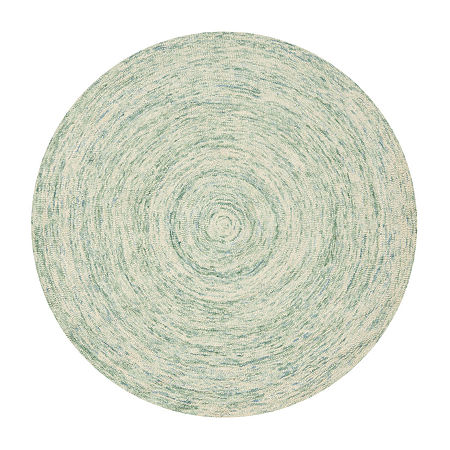 Safavieh Ikat Collection Randall Geometric Round Area Rug, One Size , Multiple Colors