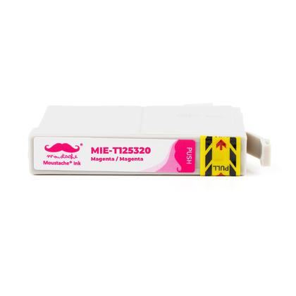 Compatible Epson T125320 cartouche d'encre magenta - Moustache - 10/paquet