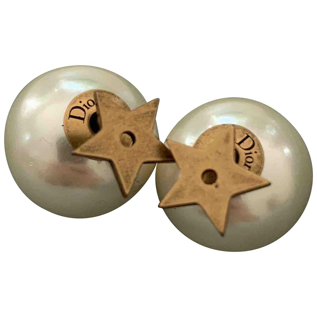 Dior Tribal Gold Metal Earrings for Women N
