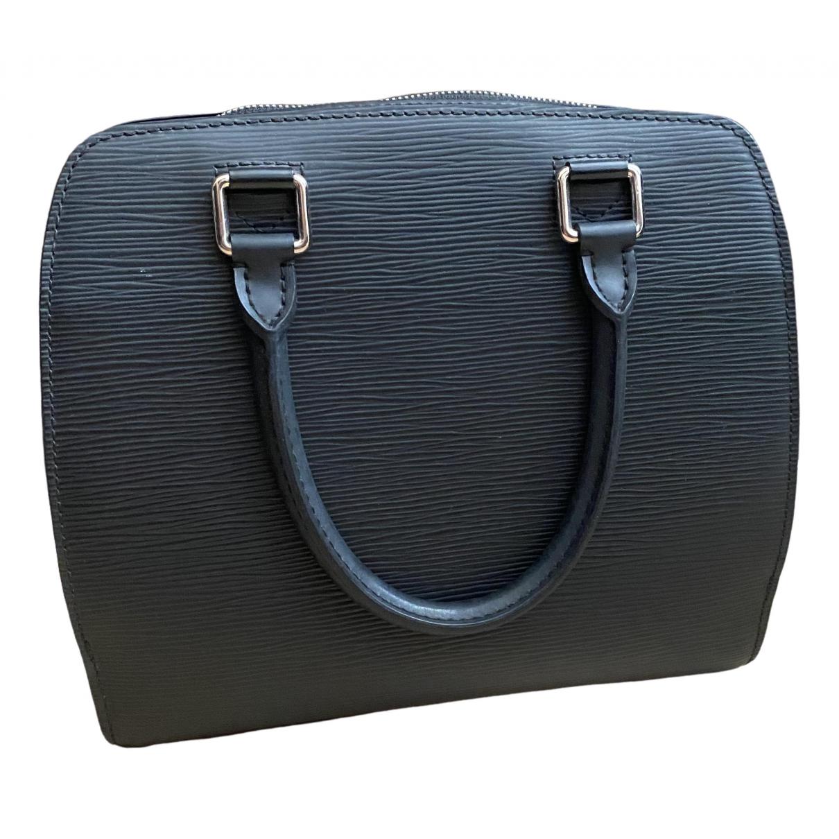 Louis Vuitton Pont Neuf Handtasche in  Schwarz Leder