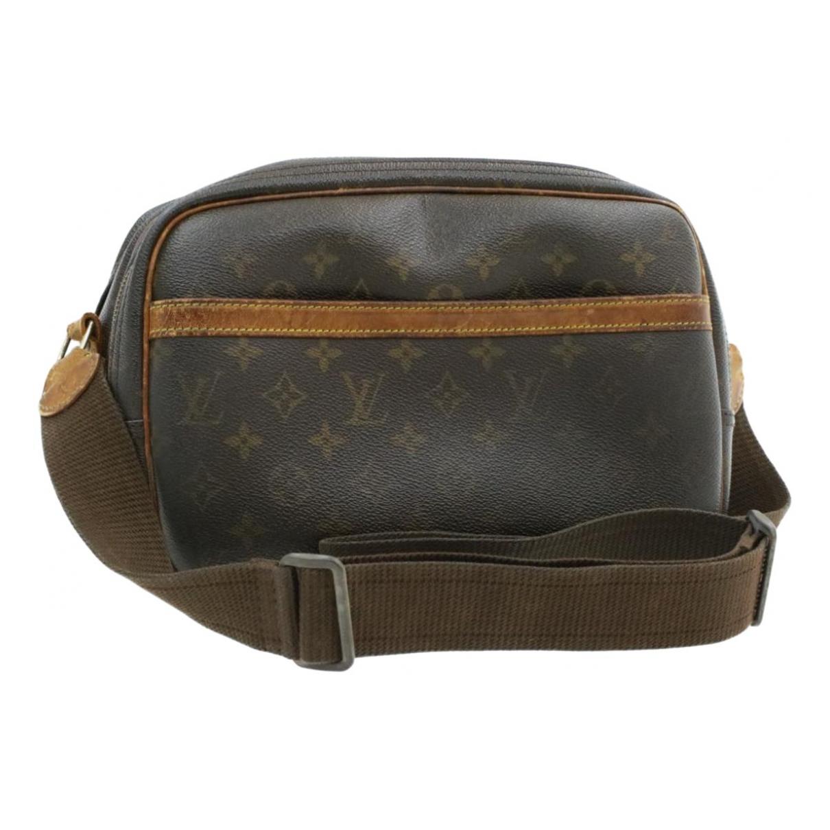 Louis Vuitton Reporter Brown Cloth handbag for Women \N