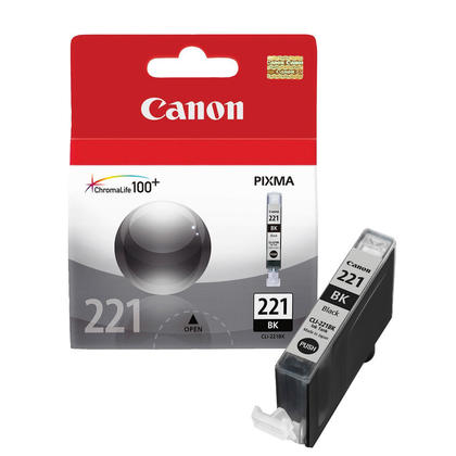 Canon CLI-221BK Original Black Ink Cartridge