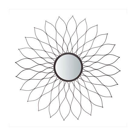Safavieh Ravin Champagne Wall Mirror, One Size , Gray
