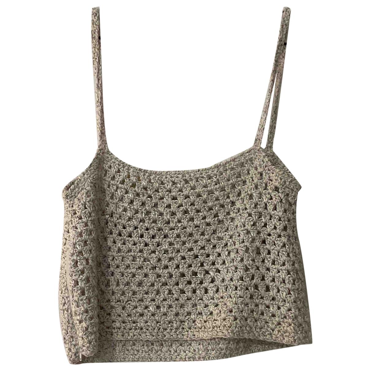 - Top Crochet pour femme en laine - beige