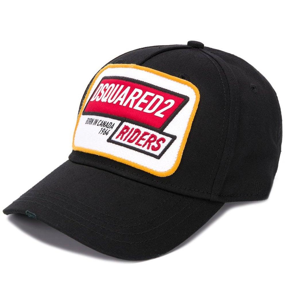DSquared2 'Riders' Logo Cap Black Colour: BLACK, Size: ONE SIZE