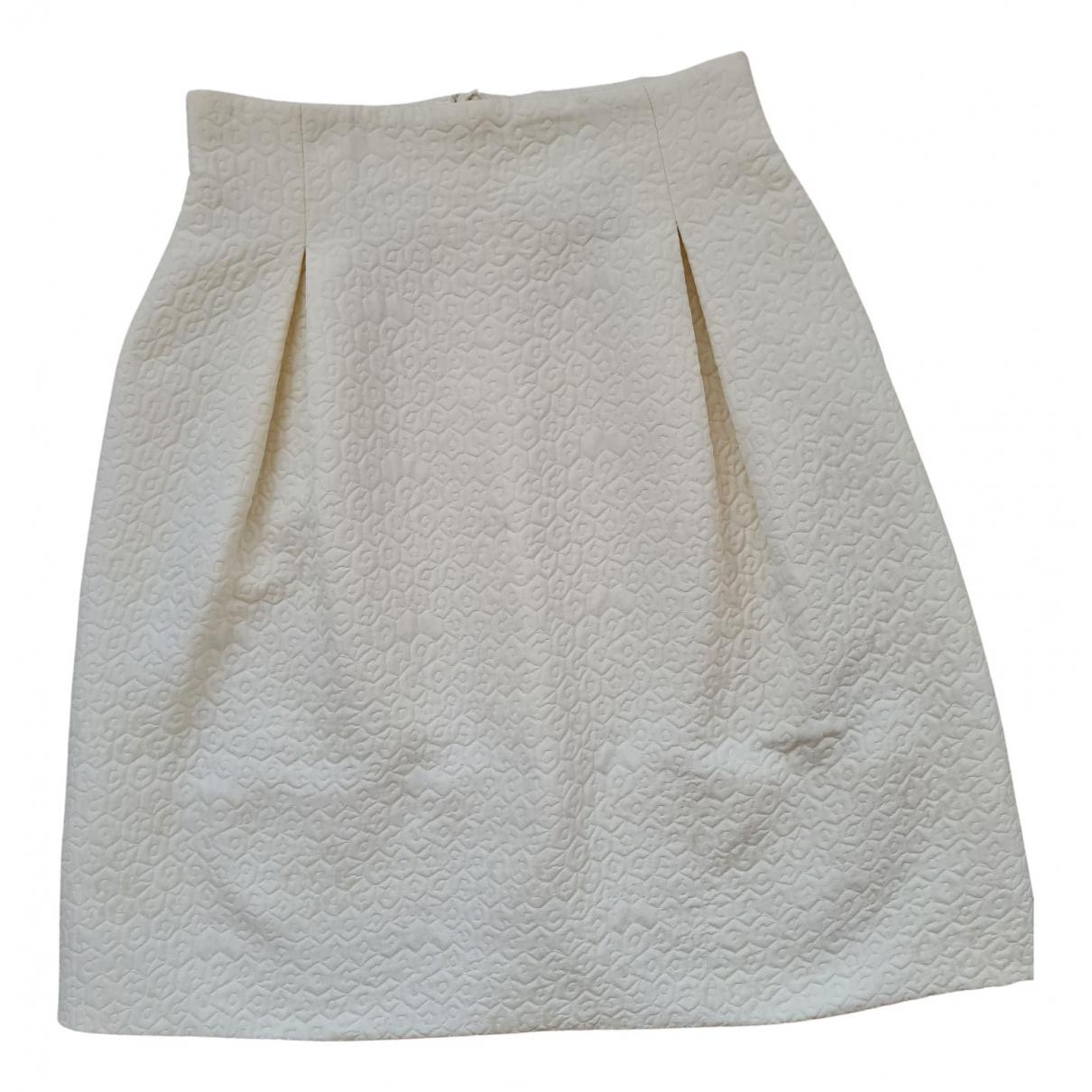Natan - Jupe   pour femme en coton - beige