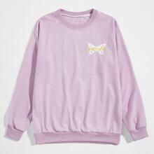 Guys Butterfly Graphic Sweatshirt
