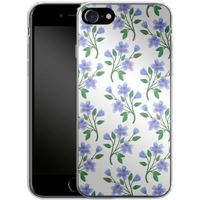 Apple iPhone 7 Silikon Handyhuelle - Fresh Bloom von Iisa Monttinen